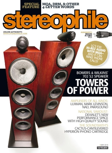 Stereophile May 2018 - ACA